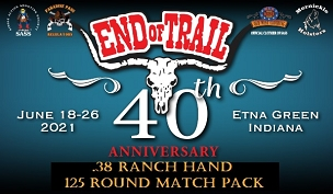 EOT PRE-ORDER .38 Ranch Hand - 125 Round Match Pack